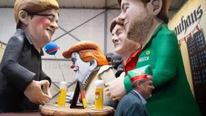 Diese Motivwagen dominieren den diesjährigen Karneval