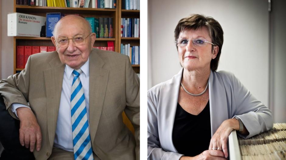 Da hatten sich zwei gefunden: Marcel Reich-Ranicki und Monika Kunz, seine Sekretärin von 1973 bis 1989.