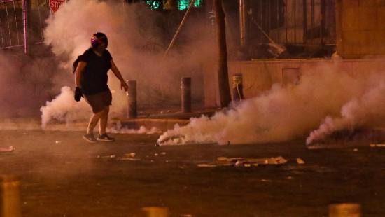 Proteste gegen die Regierung in Beirut
