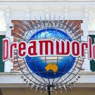 Der Dreamworld Freizeitpark steht an der Gold Coast in Australien.