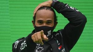 Hamilton und der Weltrekord in der Umlaufbahn