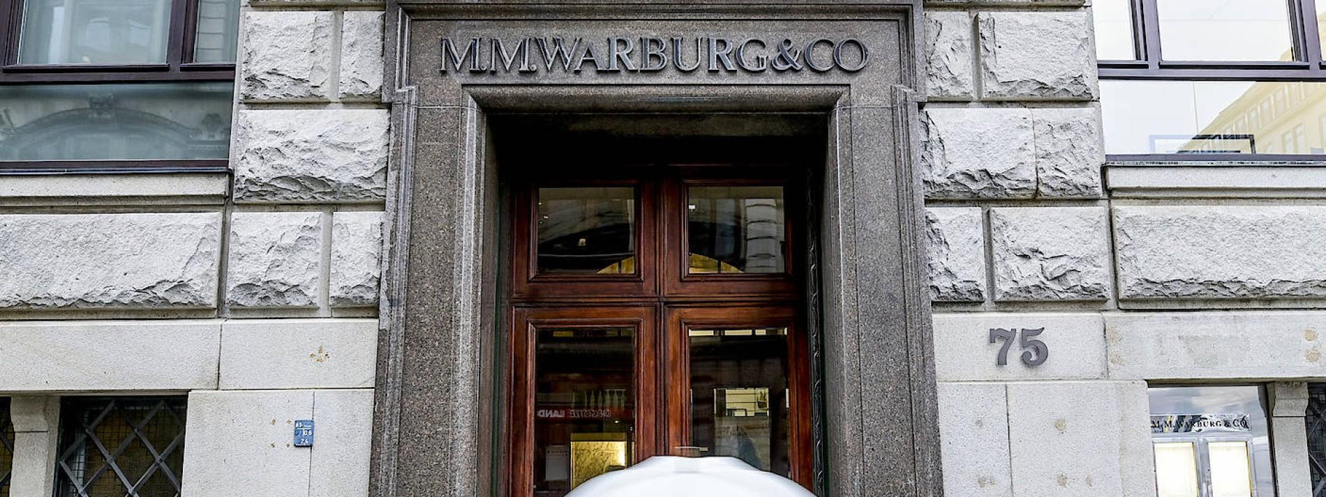 Warburg-Bank begleicht Steuerrückforderungen