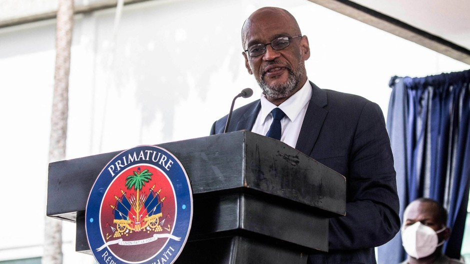 Haitis Premierminister Ariel Henry
