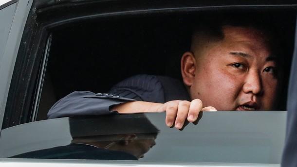 Kims Problem mit den amerikanischen Journalisten
