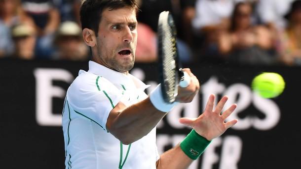 Djokovic und Federer im Viertelfinale