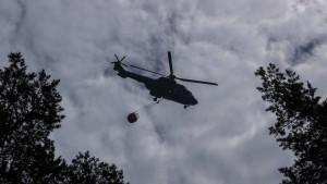 """Waldbrand bei Lübtheen """"im Griff"""" – Lage aber weiter sehr ernst"""