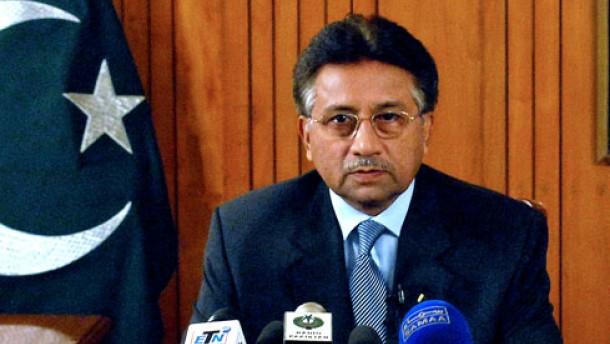 Musharraf kündigt Rücktritt an
