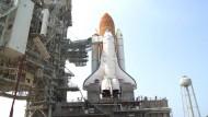 Russen nach Weltraum-Wettrennen allein