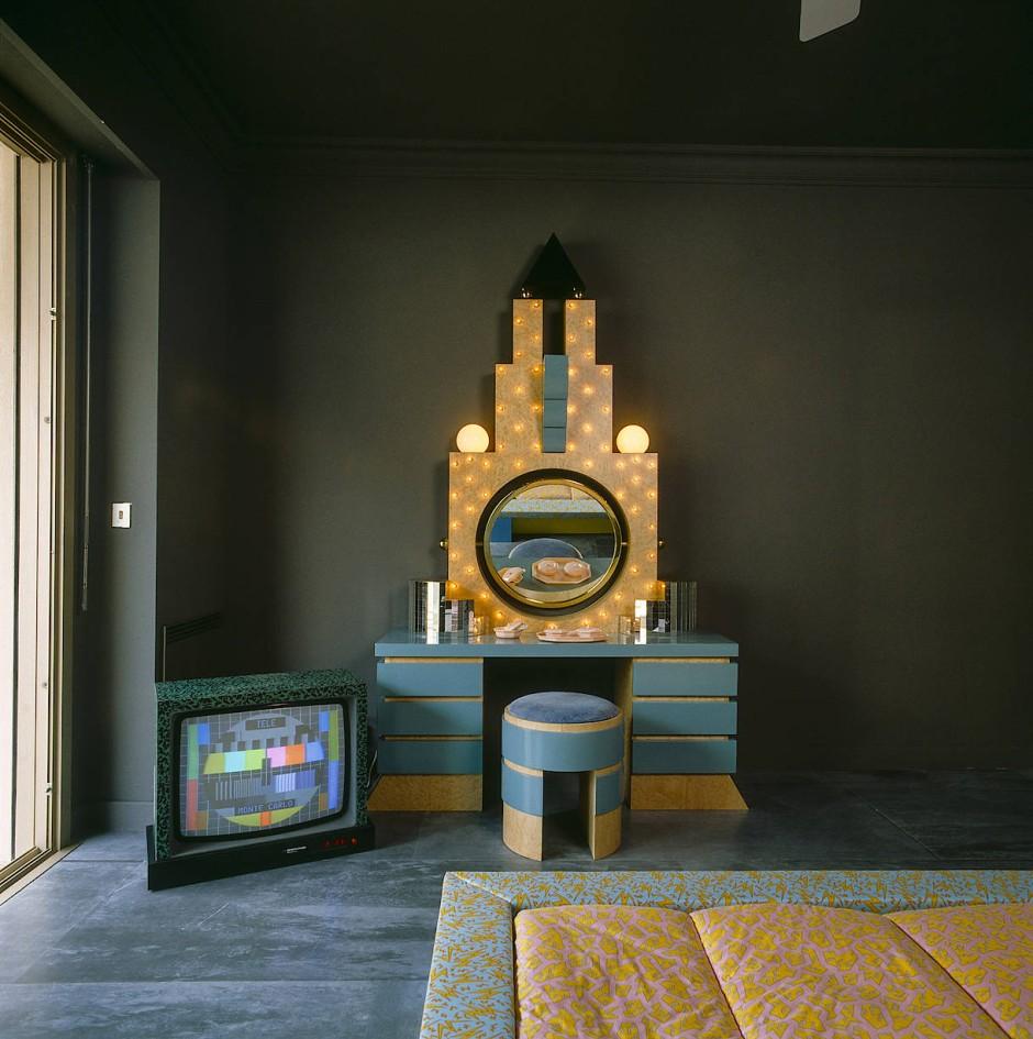 Memphis-Stil in Monaco: Die Wohnung von Karl Lagerfeld in den Achtzigern
