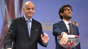 Juventus gegen Olympique