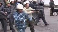 Tote bei Protesten in kirgisischer Hauptstadt