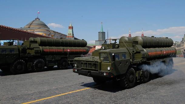 Russische Raketenabwehr in Türkei angekommen