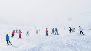 Plötzlich seekrank im Schnee