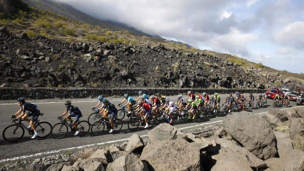 Ätna statt Alföld beim Giro d'Italia