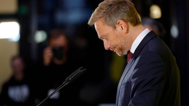Lindner will Vertrauensfrage im FDP-Parteivorstand stellen