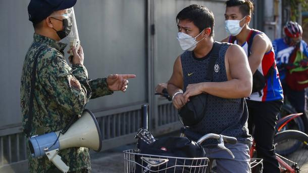 Abermals strikte Ausgangssperre in philippinischer Hauptstadt Manila verhängt