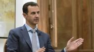 Assad bietet Rebellen Amnestie für Entwaffnung