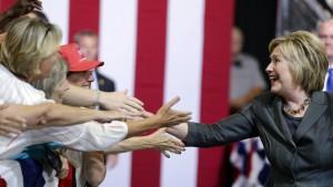 Clinton baut ihren Vorsprung vor Trump aus