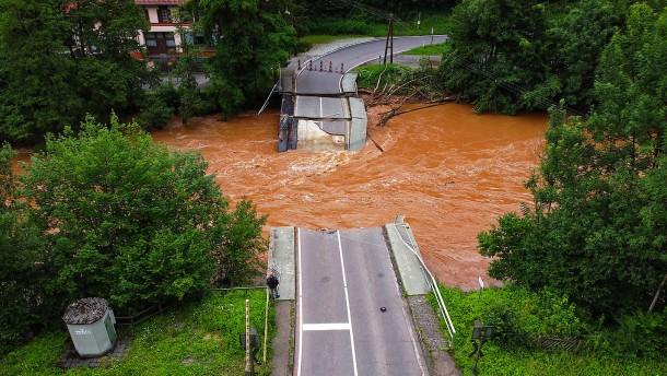 Klimawandel macht Hochwasser wahrscheinlicher