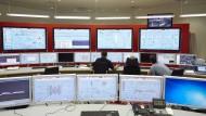 Alles im Blick: Kontrollraum einer Kohle-Mine von Uniper in Frankreich