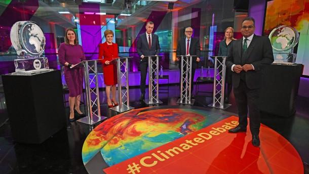 Eisblöcke ersetzen Johnson und Farage