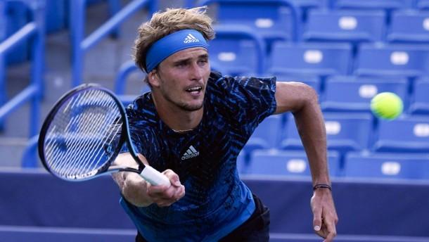 Tennis-Profis Kerber und Zverev in Cincinnati im Viertelfinale
