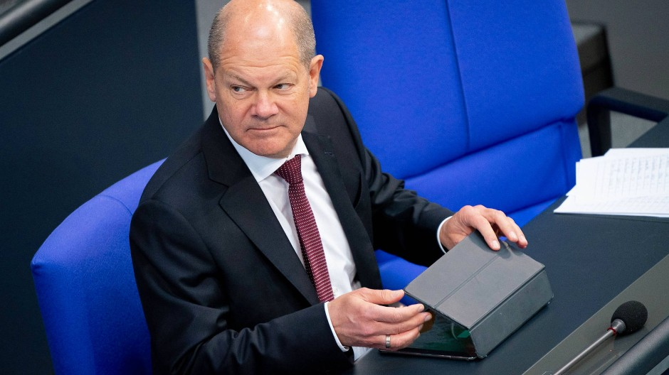 Überbringer der Hiobs Botschaft? Am Donnerstag verkündet Finanzminister Olaf Scholz, welche Verluste den Staat erwarten.