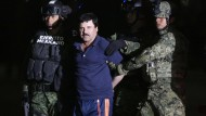"""""""El Chapo"""" Guzmán im vergangenen Jahr in Mexiko-Stadt."""