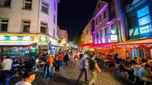 Frankfurts Partymeile kämpft um neues Image
