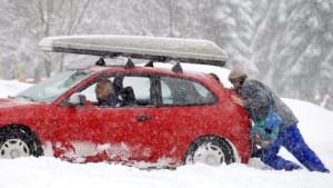 Verkehrschaos auf deutschen Straßen