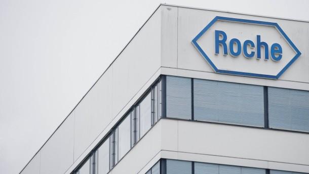 Pharmakonzern Roche legt Gewinnsprung hin