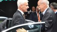 Daimler kam VW offenbar mit Selbstanzeige zuvor