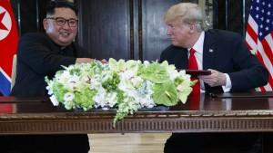 Nordkoreaner schreiben Brandbrief an Amerika