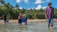 Die Einwohner der Fidschi-Inseln sind vom Klimawandel bedroht: durch einen höheren Meeresspiegel wie durch Veränderungen im Landesinneren.
