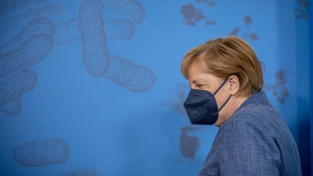 Merkel lehnt Impfpflicht ab