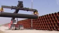 Baubeginn für die Ostseepipeline