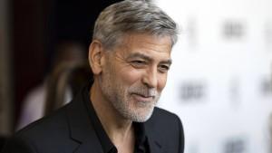 George Clooney mutiert im Lockdown zum Hausmann