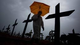 Bolsonaro interessiert Brasiliens dritte Welle nicht