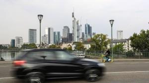 Wo Stickoxid in Frankfurt zum Problem wird