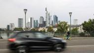 Drohende Diesel-Fahrverbote: Frankfurt kämpft um saubere Luft.