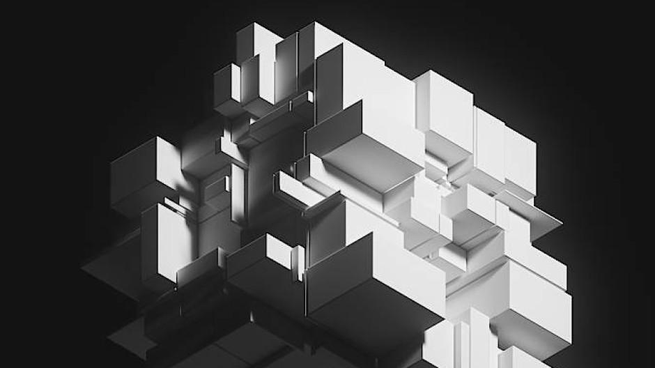 """Zusammengewürfelt: Eine mögliche Ansicht von """"The Fungible Collection"""" von Pak, zu erwerben bei Sotheby's über Nifty Gateway als NFT."""