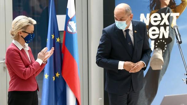 Slowenien übernimmt EU-Ratsvorsitz von Portugal