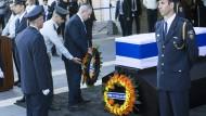Trauerfeier für Peres