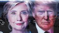 Das TV-Duell Trump gegen Clinton hat viele Vorgänger, einige sind legendär.