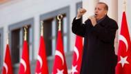 Mit neuer Stärke: Recep Tayyip Erdogan, Präsident der Türkei