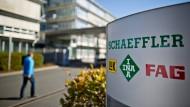 Mit Grenkeleasing, Sartorius und Compugroup ist Schaeffler einer von vier neuen Werten im F.A.Z.-Aktienindex.