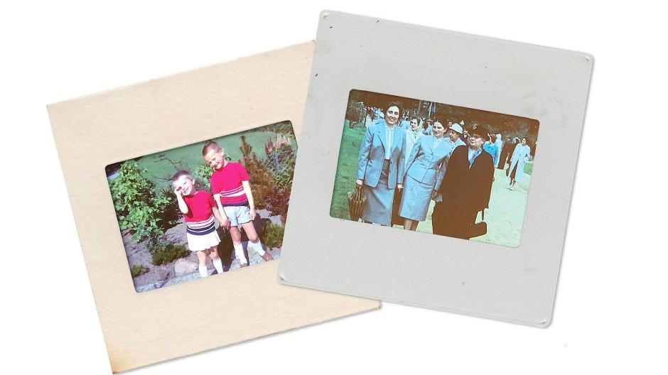 Erinnerungen an die sechziger Jahre: Tanten-Ausflug und die Geschwister im Partnerlook