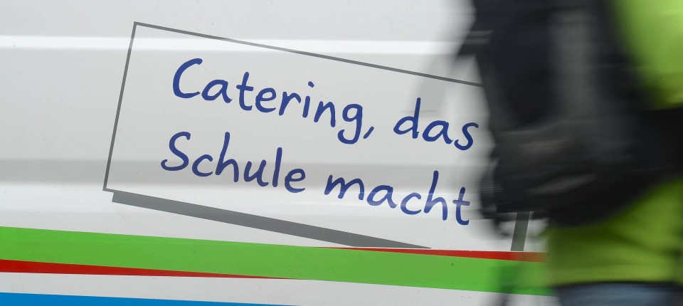 Frankfurter Schüler protestieren gegen Mensaessen