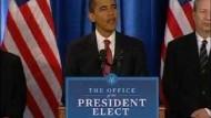 Obama verspricht 2,5 Millionen neue Jobs