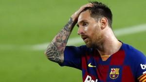 Barcelona-Spieler verzichten auf 122 Millionen